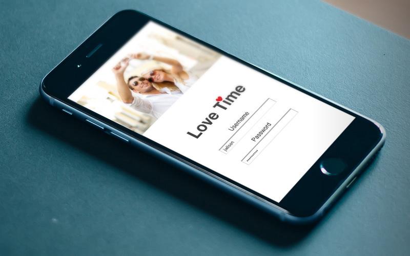 Lovetime App iPhone