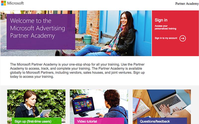 Microsoft Partner Academy Portal
