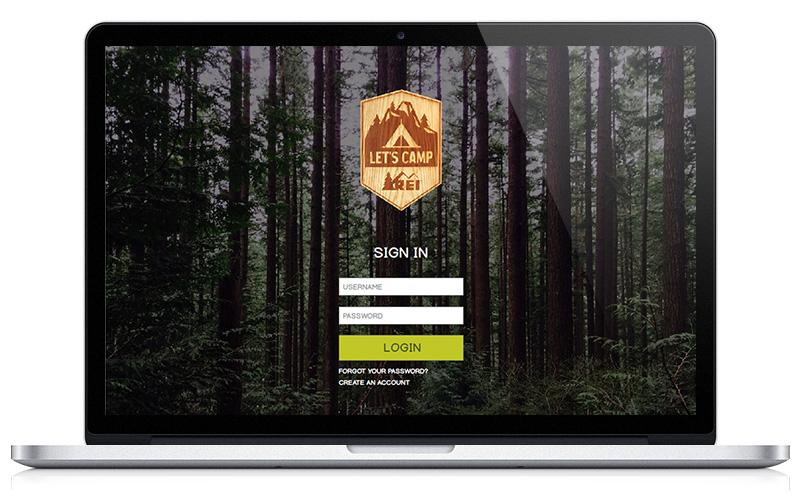 Let's Camp REI Macbook Pro